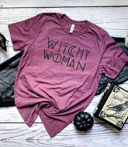 WITCHY WOMAN - GRAPHIC TEE