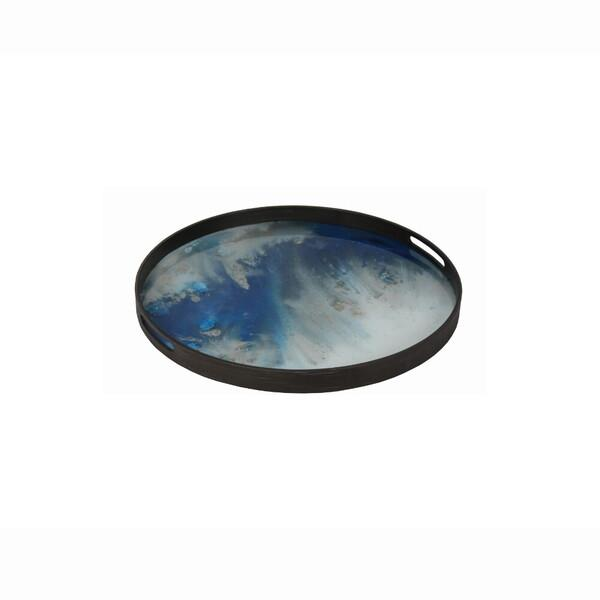 Blue Mist Organic glass tray