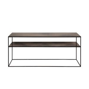 Bronze Copper sofa console - Floor Model