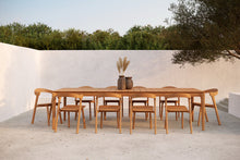 Load image into Gallery viewer, Teak Bok outdoor dining table