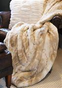 Couture Blonde Mink Throw