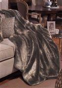 Couture Timber Wolf Throw