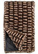 Couture Shadow Mink Throw