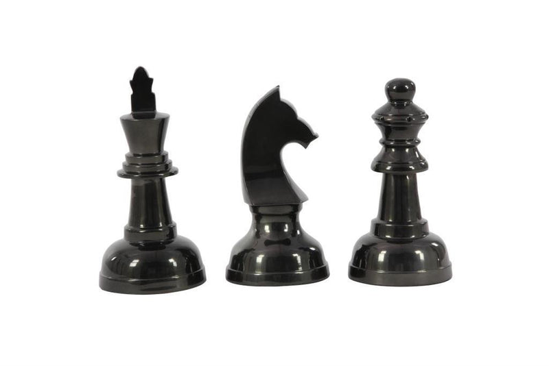 Black Almn Chess S/3