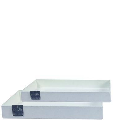 CEMENT FINISH TRAY SET OF 2