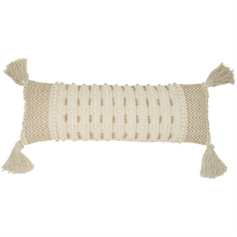 KNOTTED CHEVRON LONG PILLOW