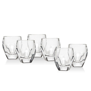 Stokholm glass - clear  (set of 2)