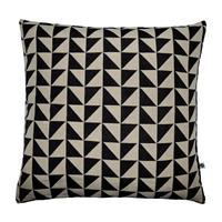 COTTON/JACQUARD PILLOW COVER (W/O INSERT) - A