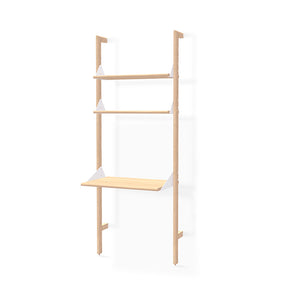 Branch Desk with Shelf 2-Pack