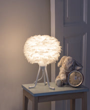 Load image into Gallery viewer, EOS Micro Feather Tripod Table Lamp