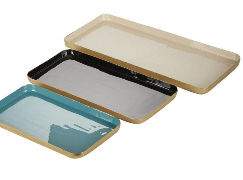 Metal Rec. Tray Set/3