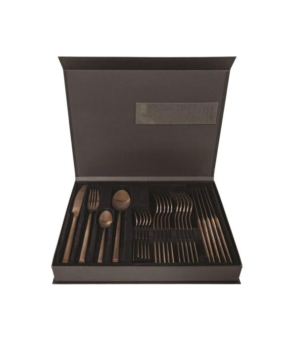 Cutlery 6 Place Setting & Geltex Box