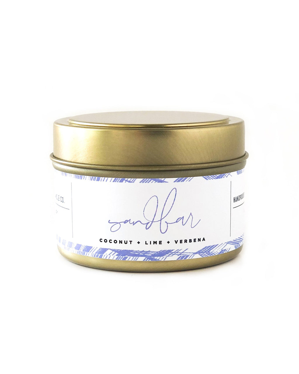 Sandbar Travel Candle