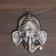 onesilver.in german silver Ganesh Head With Hanger