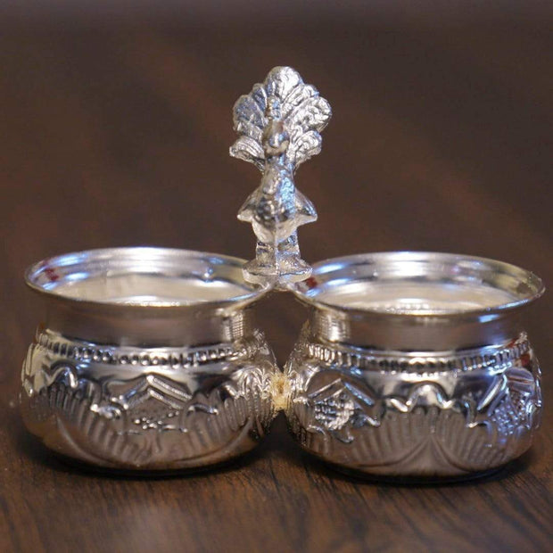onesilver.in german silver Two Cup Panchwala Big