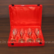 onesilver.in gift set GS four wine glass gift set