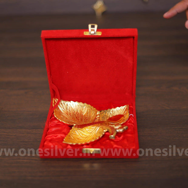 onesilver.in gift set GS  Gold Leaf Gift Set