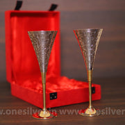 onesilver.in gift set GS wine Glass Gift Set