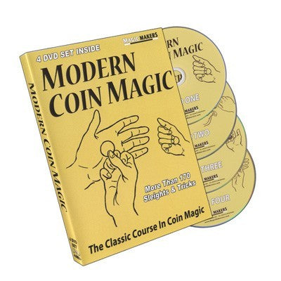 Modern Coin Magic 4-DVD Set