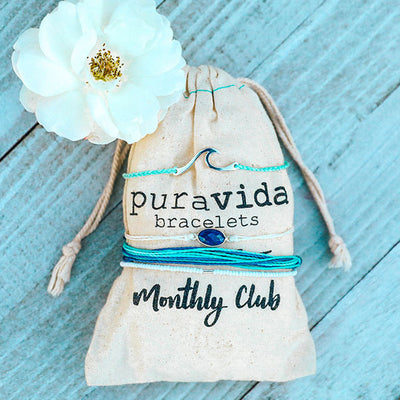 Pura Vida Monthly Rebillable Bracelet Subscription (Billed monthly)