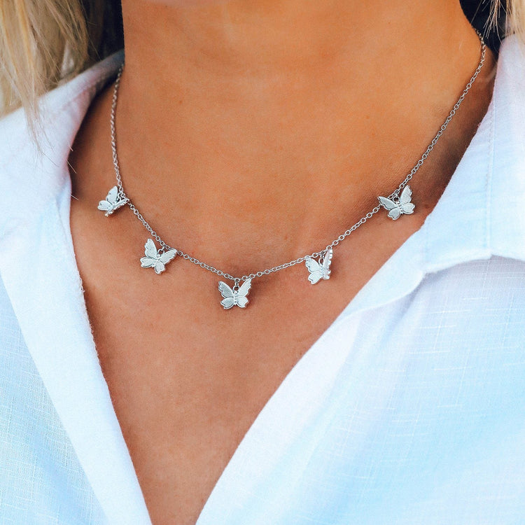Butterfly In Flight Choker