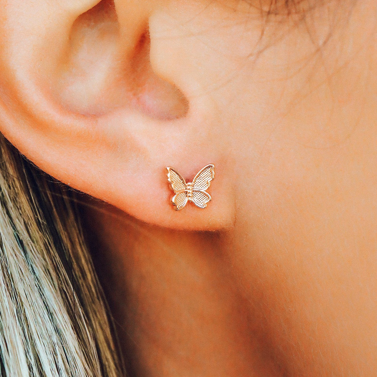 Butterfly In Flight Earrings 3