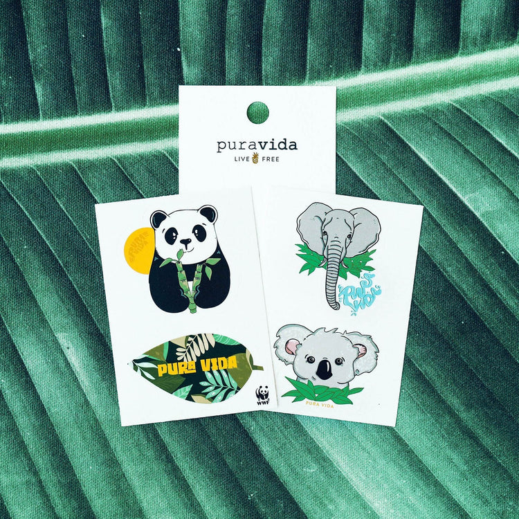 Wildlife Love Sticker Pack