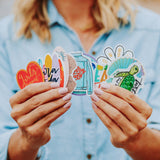 Surf Stack Sticker Photo 3