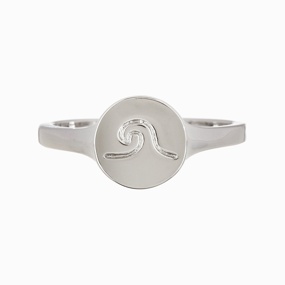 Wave Coin Ring 1