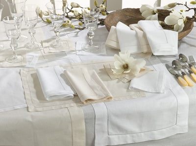 Hemstitched Placemat White