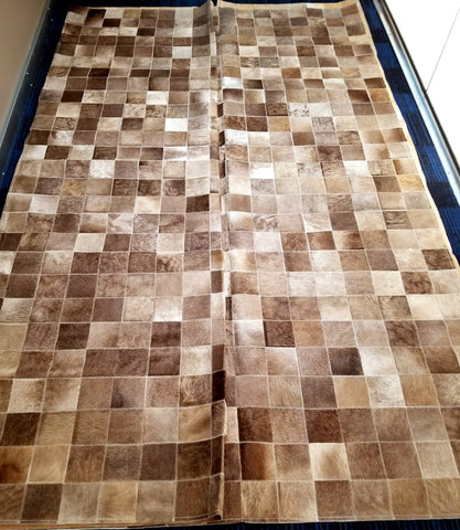 Brazilian designer patch hide carpet