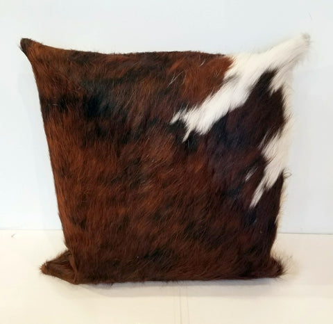 Cowhide pillows