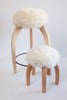 Patagonia Sheepskin Stools, sold individually, counter stools, sold in pairs! *currently out of stock* PRE ORDER for 10% discount!