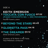 Keith Emerson – Beyond the Stars (Limited Edition Clear Vinyl LP Gatefold)
