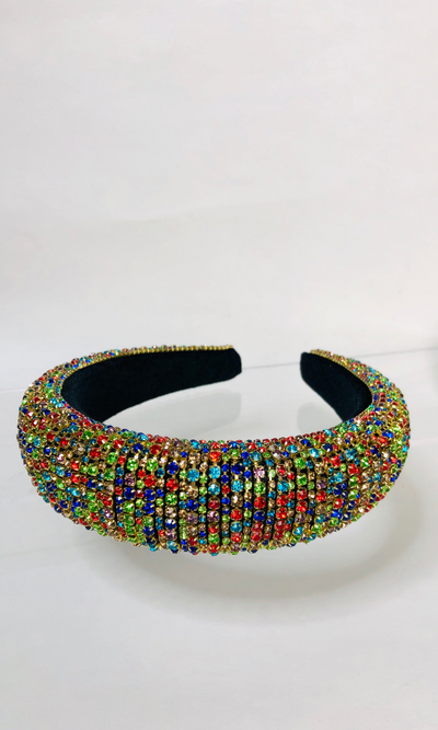 RHINESTONE HEADBAND (Multi)