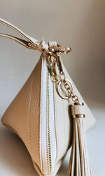BONE WRISTLET PYRAMID BAG