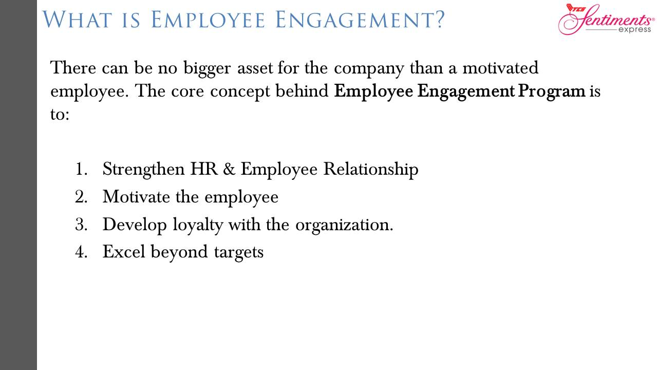 Employee Engagement - TCS Sentiments Express