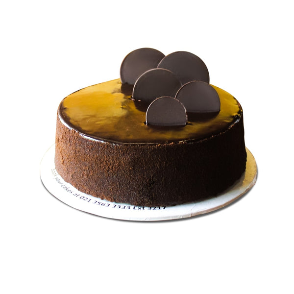 Swiss Chocolate Cake 2LBS By Movenpick - TCS Sentiments Express