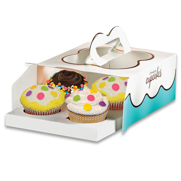Cupcake Combo - 4 PCS. BOX By Cinnabon - TCS Sentiments Express