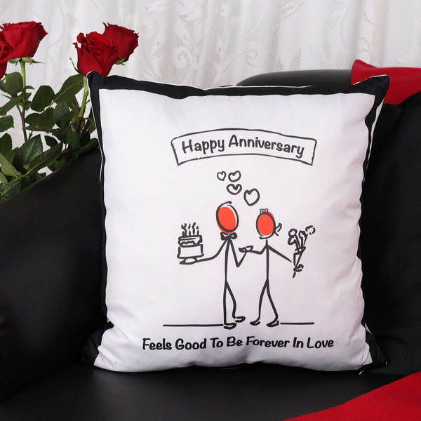 Happy Anniversary Cushion - TCS Sentiments Express
