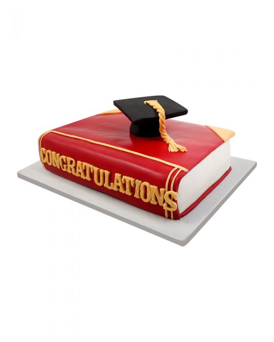 Graduation Cake 4lbs - TCS Sentiments Express
