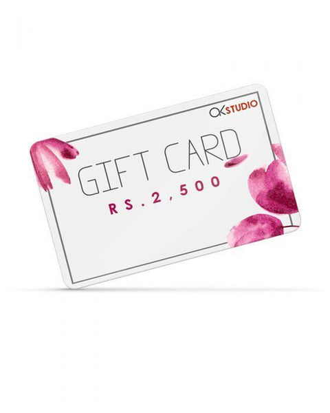 Alkaram Gift Card - TCS Sentiments Express