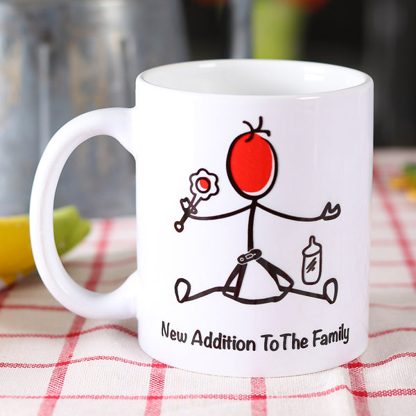 New Addition Mug - TCS Sentiments Express