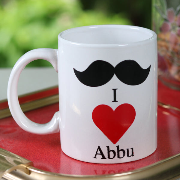 I love Abbu Mug - TCS Sentiments Express