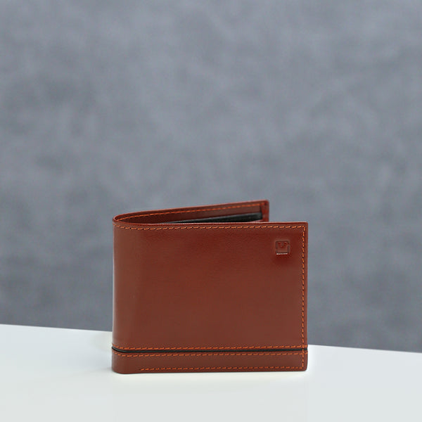 Wallet M Jafferjees Tan and Black