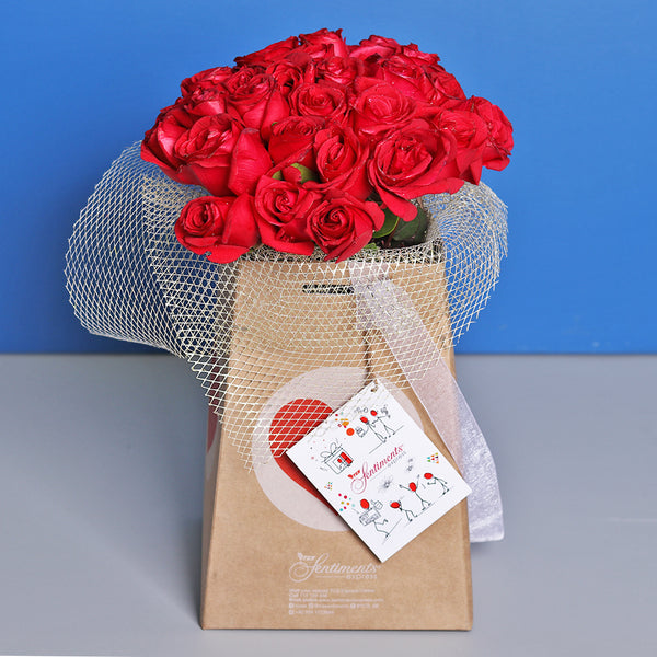 Whimsical Reds - TCS Sentiments Express