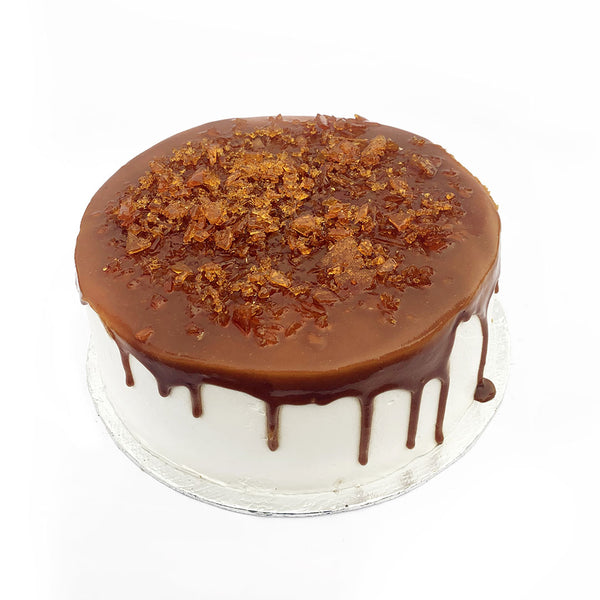 Crunchy Toffee Cake 2LBS By Coffee Planet - TCS Sentiments Express