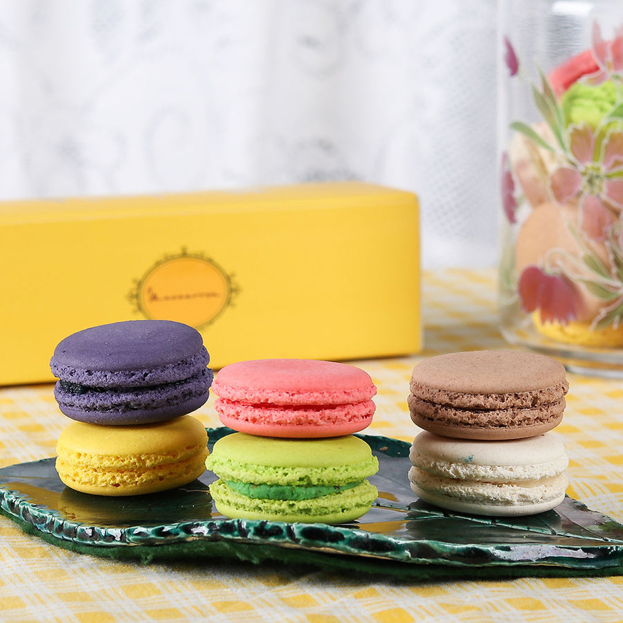 Macarons - 6 Pcs. Box - TCS Sentiments Express