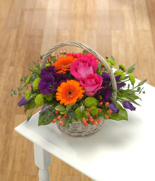 Basket Arrangement - TCS Sentiments Express