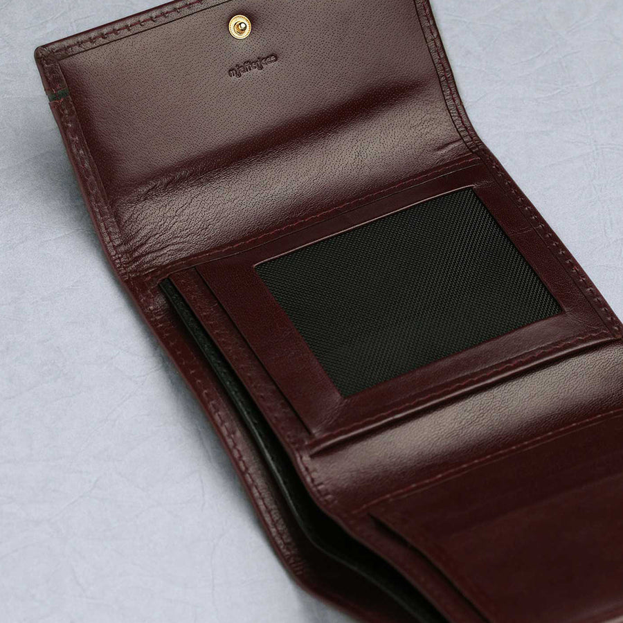 Ladies Wallet M Jafferjees Antique Maroon - TCS Sentiments Express